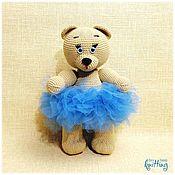 Куклы и игрушки handmade. Livemaster - original item Soft toys: Julia-knitted toy. Handmade.