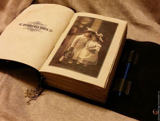 Кулинарные книги ручной работы. Ярмарка Мастеров - ручная работа. Купить Книга для записи рецептов. Handmade. Черный, кулинария