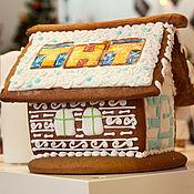 Сувениры и подарки ручной работы. Ярмарка Мастеров - ручная работа Брендированный домик. Handmade.