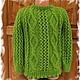 Одежда унисекс ручной работы. Ярмарка Мастеров - ручная работа. Купить свитер детский вязаный. Handmade. Свитер детский