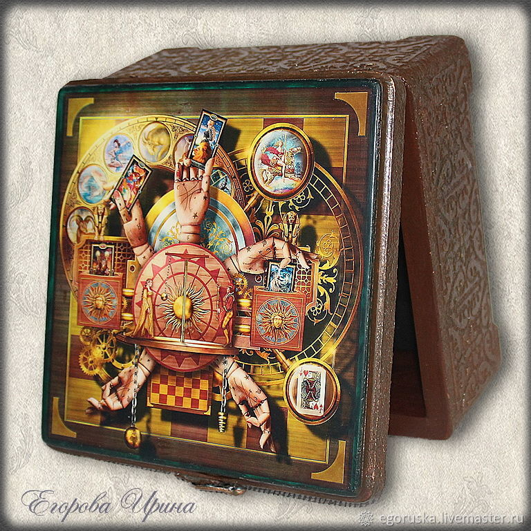 Box of Tarot cards ' the Exciting anticipation. ', Box, Moscow,  Фото №1