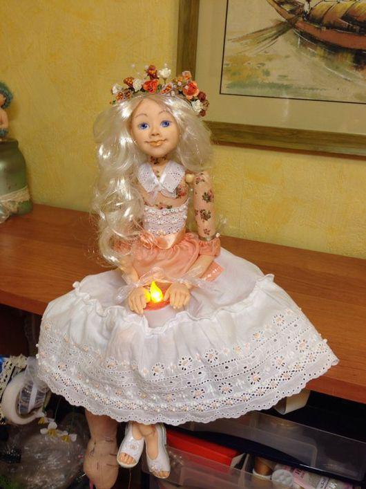 Коллекционные куклы ручной работы. Ярмарка Мастеров - ручная работа. Купить Коллекционная кукла. Бусино-шарнирная будуарная кукла.. Handmade.