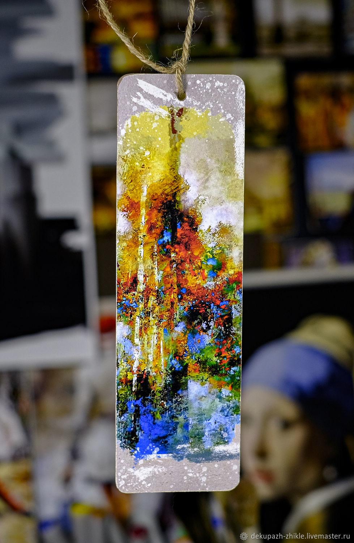 Закладка для книг «Абстракция №2», Закладки, Санкт-Петербург,  Фото №1