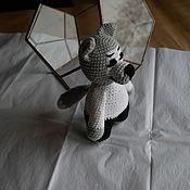 Куклы и игрушки handmade. Livemaster - original item Grey wolf.. Handmade.