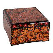 Сувениры и подарки handmade. Livemaster - original item gift box 18 18 8 SMOD tea gift packing. Handmade.