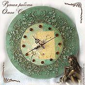"""Для дома и интерьера ручной работы. Ярмарка Мастеров - ручная работа Часы """"Соната"""". Handmade."""