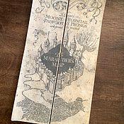 Субкультуры handmade. Livemaster - original item The Marauders Map. Handmade.