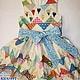 Одежда для девочек, ручной работы. Платье с Сердечками (вышивка). Юлия Кихтенко. Детские платья. Ярмарка Мастеров. Бохо, сердечки, пэчворк