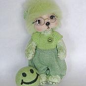 Куклы и игрушки ручной работы. Ярмарка Мастеров - ручная работа Мишка Тедди -  Смайлик.. Handmade.