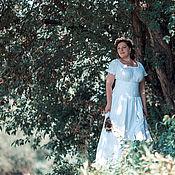 Свадебный салон ручной работы. Ярмарка Мастеров - ручная работа Свадебное платье для лесной нимфы. Handmade.