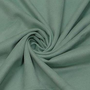 Материалы для творчества ручной работы. Ярмарка Мастеров - ручная работа Ткань замша стрейч мята  одежная. Handmade.