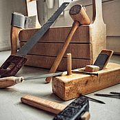 Статуэтки ручной работы. Ярмарка Мастеров - ручная работа Миниатюрные столярные инструменты. Handmade.