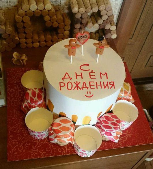 Персональные подарки ручной работы. Ярмарка Мастеров - ручная работа. Купить Пивной торт (или газировка). Handmade. Тортик, пиво