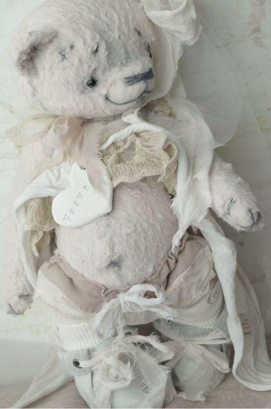 Мишки Тедди ручной работы. Ярмарка Мастеров - ручная работа. Купить мишка тедди Варвара. Handmade. Тедди, мишка девочка