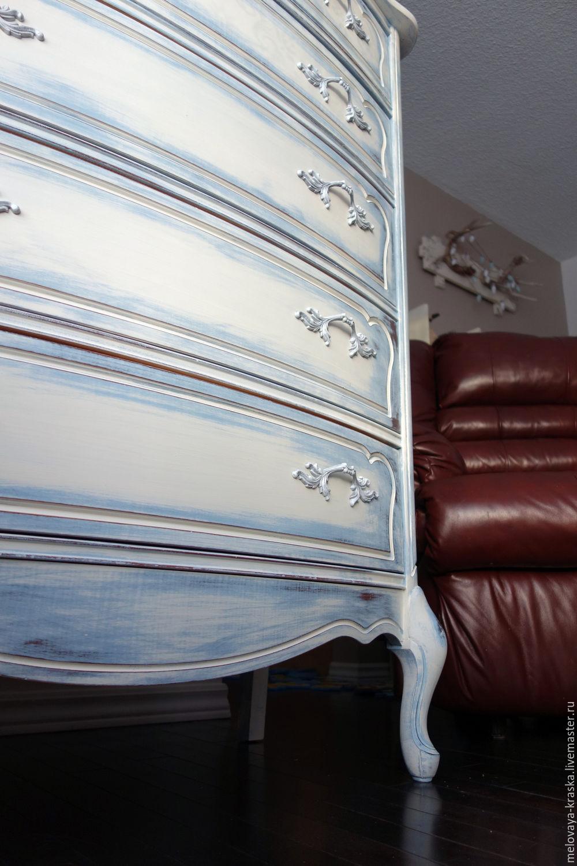 Эффект состаривания мебели