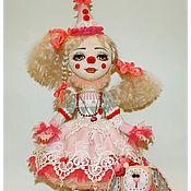 Куклы и игрушки ручной работы. Ярмарка Мастеров - ручная работа авторская кукла Клоунесса Инесса. Handmade.