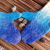Аксессуары ручной работы. Ярмарка Мастеров - ручная работа Самые мягкие варежки  из шерсти Альпаки,  варежки для нежной кожи рук. Handmade.