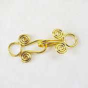 Материалы для творчества ручной работы. Ярмарка Мастеров - ручная работа Замочек 18K GOLD PLATED стиль Бали 2. Handmade.