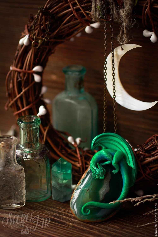 Pendant emerald dragon falkor shop online on livemaster with order pendant emerald dragon falkor secret jar livemaster aloadofball Gallery