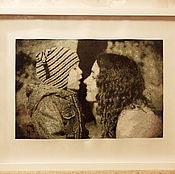 Картины и панно ручной работы. Ярмарка Мастеров - ручная работа Мать и сын. Handmade.