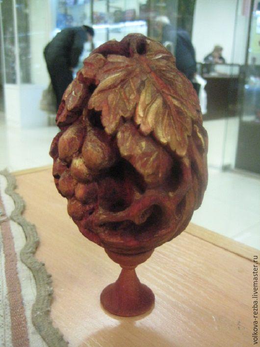Подарки на Пасху ручной работы. Ярмарка Мастеров - ручная работа. Купить Пасхальное яйцо-резьба по дереву. Handmade. Пасха, резьба