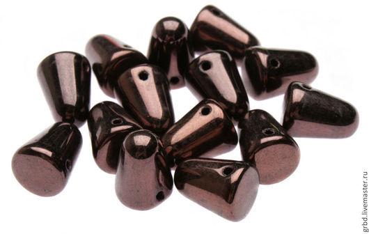 Для украшений ручной работы. Ярмарка Мастеров - ручная работа. Купить Чешские бусины Gum Drops 7,5x10мм LE23980. Handmade.