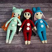 Куклы и игрушки ручной работы. Ярмарка Мастеров - ручная работа Куклы примитивы вязанные крючком, куколки амигуруми. Handmade.