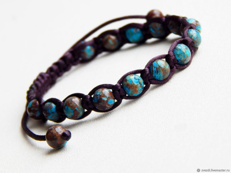 Marika bracelet made of jasper, Bead bracelet, Minusinsk,  Фото №1