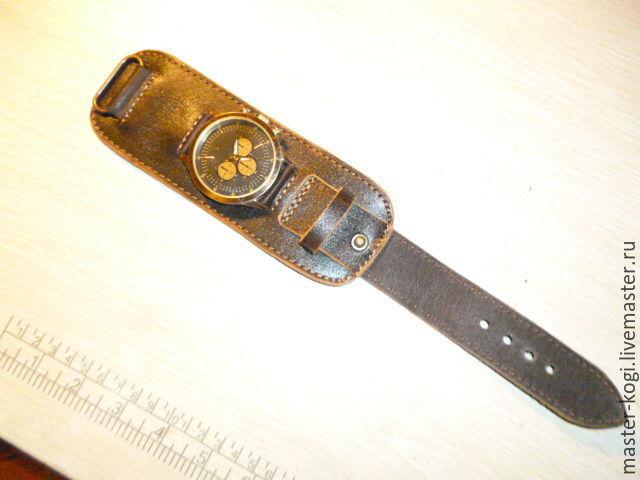 Ремешок на часы из кожи