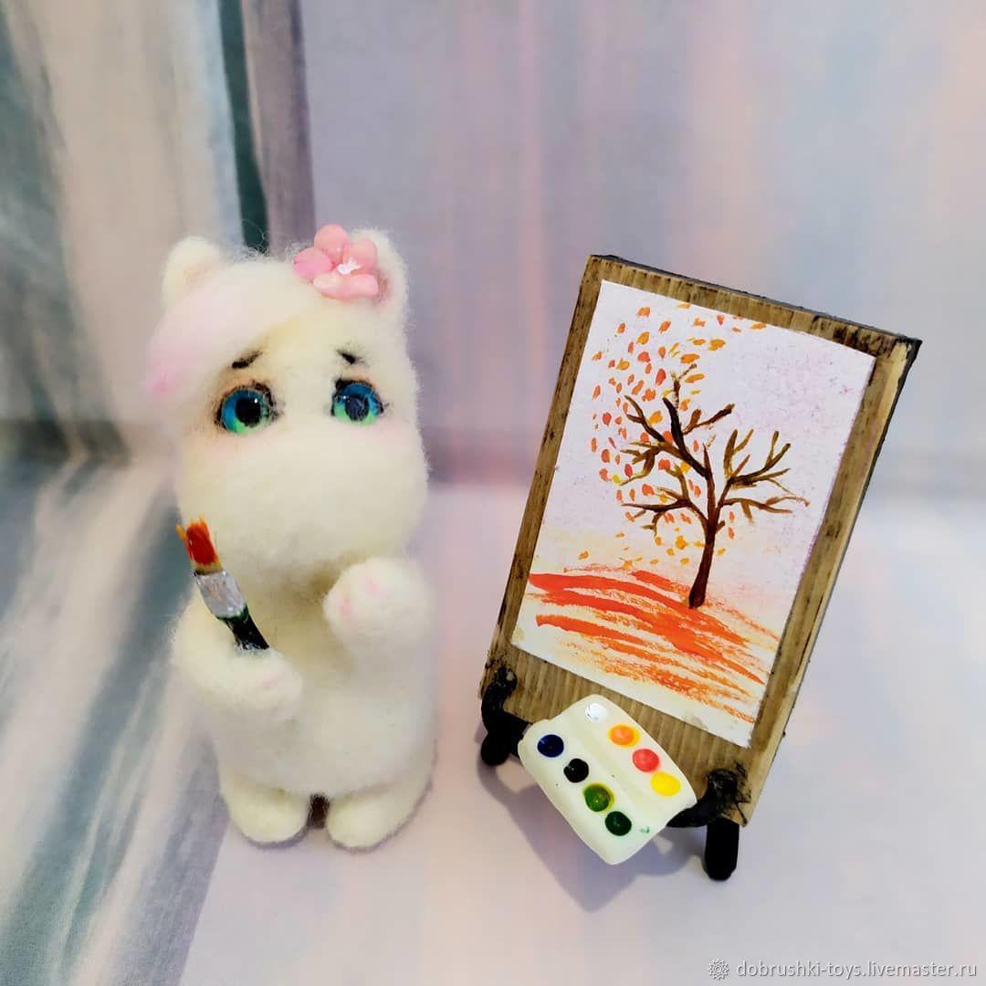 felt toy: Frken Snork, Felted Toy, Ekaterinburg,  Фото №1