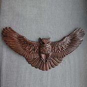 Картины и панно handmade. Livemaster - original item Attacking Owl. Handmade.
