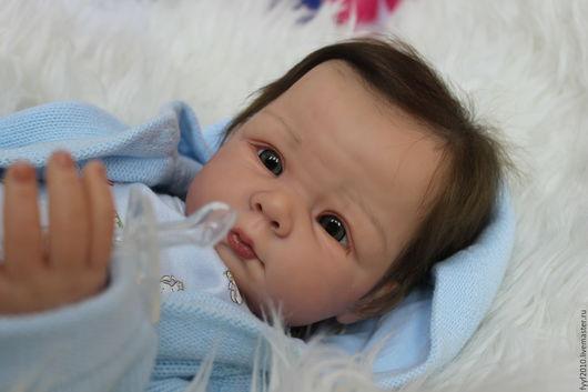 Куклы-младенцы и reborn ручной работы. Ярмарка Мастеров - ручная работа. Купить Ханна. Handmade. Разноцветный, евгения рассказова