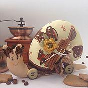 Куклы и игрушки ручной работы. Ярмарка Мастеров - ручная работа Улитка. Любителям кофе посвящается. Handmade.