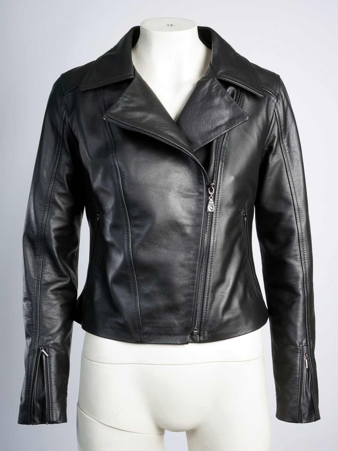 Leather jacket genuine leather black, Outerwear Jackets, Moscow,  Фото №1