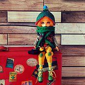 Куклы и игрушки handmade. Livemaster - original item ooak. Asya-traveler. Jointed doll copyright. Handmade.