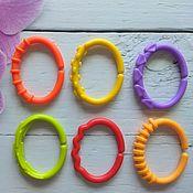 Материалы ручной работы. Ярмарка Мастеров - ручная работа Кольца пластиковые для игрушек mix. Handmade.