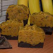 Косметика ручной работы. Ярмарка Мастеров - ручная работа Бананы в шоколаде.Натуральное мыло. Handmade.