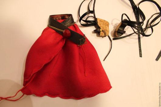 юбка и туфли для авторской шарнирной куклы