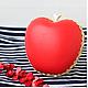 """Женские сумки ручной работы. Ярмарка Мастеров - ручная работа. Купить Кожаный клатч """"Red delicious"""". Handmade. Ярко-красный"""