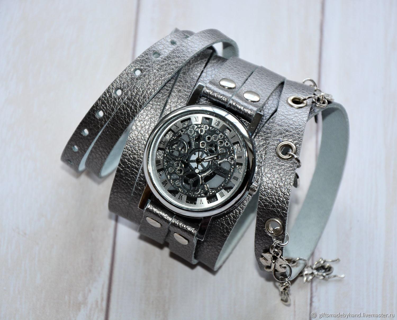 4f370281bbaf Наручные часы ручной работы. Ярмарка Мастеров - ручная работа. Купить  Скелетоны наручные часы.