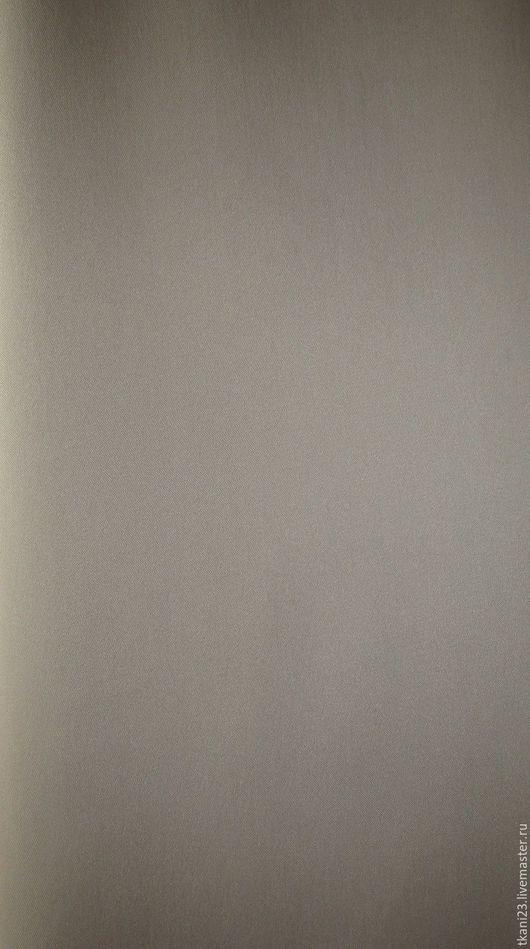 Шитье ручной работы. Ярмарка Мастеров - ручная работа. Купить Атлас стрейч плотный арт.34 КОС-8 (Корея) бежево-серый. Handmade.