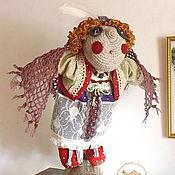 Куклы и игрушки ручной работы. Ярмарка Мастеров - ручная работа Кукла интерьерная Сова - лесная берегиня. Handmade.