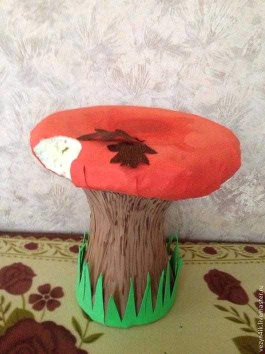 Праздничная атрибутика ручной работы. Ярмарка Мастеров - ручная работа. Купить Бутафорский гриб. Handmade. Разноцветный, бутафорский гриб