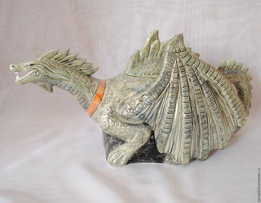 Teapots & Coffeepots handmade. Livemaster - handmade. Buy The tea pot Dragon.Ceramics, dragon, kettle handmade, ceramics