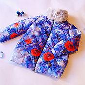 Работы для детей, ручной работы. Ярмарка Мастеров - ручная работа Куртка для девочки Маки. Handmade.