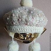 Аксессуары ручной работы. Ярмарка Мастеров - ручная работа шапочка для девочки. Handmade.