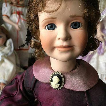 Куклы и игрушки ручной работы. Ярмарка Мастеров - ручная работа Коллекционная Кукла Mrs. MARCH от WENDY LAWTON. Handmade.