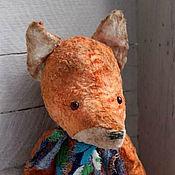 Куклы и игрушки ручной работы. Ярмарка Мастеров - ручная работа Людвиг. Тедди лис. Друзья тедди. Handmade.