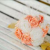 Свадебный салон ручной работы. Ярмарка Мастеров - ручная работа Брошь-букет. Букет невесты.. Handmade.
