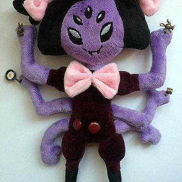 Куклы и игрушки ручной работы. Ярмарка Мастеров - ручная работа Мягкая игрушка Паучиха Маффет Muffet. Handmade.